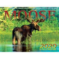 Maine Scene Moose 2020 Wall Calendar