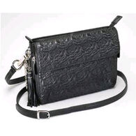 Gun Tote'n Mamas GTM-10 Embroidered Lambskin Concealed Carry Bag