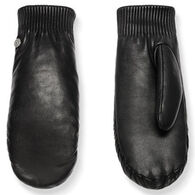 Canada Goose Women's Leather Rib Luxe Mitt