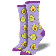 Socksmith Design Women's You Guac My World Crew Sock