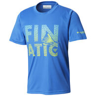 Columbia Boy's PFG Finatic Short-Sleeve Shirt