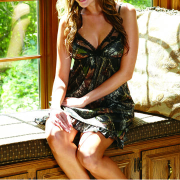 Wilderness Dreams Women's Camo Chemise