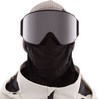 Anon Men's M4 Cylindrical Snow Goggle + Spare Lens + MFI Facemask