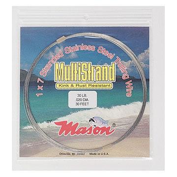 Mason MultiStrand Leader Wire - 10 Yards