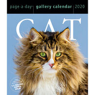 Cat 2020 Page-A-Day Gallery Calendar by Workman Publishing