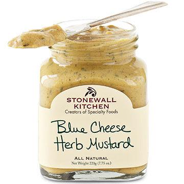 Stonewall Kitchen Blue Cheese Herb Mustard, 7.75 oz.