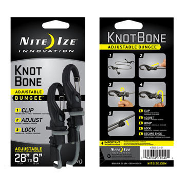 Nite Ize KnotBone Adjustable Bungee