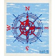 Wet-it! Swedish Cloth - Compass Blue