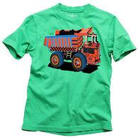 Wes & Willy Boys' Dump Truck Short-Sleeve T-Shirt