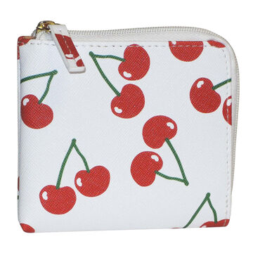 Buxton Womens Fruit Pik-Me-Ups Mini L-Zip Wallet