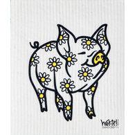 Wet-it! Swedish Cloth - Daisy Pig