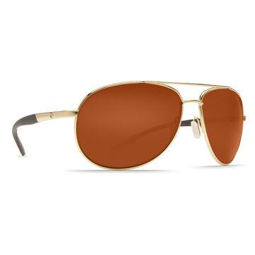 Costa Del Mar Wingman Aviator Plastic Lens Polarized Sunglasses
