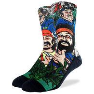 Good Luck Sock Men's Cheech & Chong DEA Crew Sock