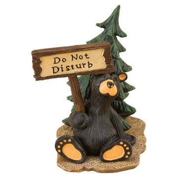 Big Sky Carvers Disturbed Bear Figurine