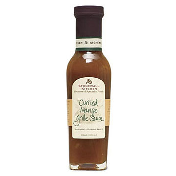 Stonewall Kitchen Curried Mango Grille Sauce, 11 oz.