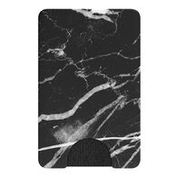 PopSockets PopWallet Faux Black Marble Card Holder