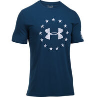 Under Armour Men's UA Freedom Logo Short-Sleeve Shirt