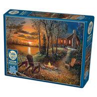 Outset Media Jigsaw Puzzle - Fireside