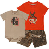 Carhartt Infant/Toddler Boys' Realtree Camo Gift Set, 3-pc