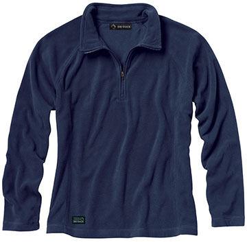 DriDuck Traders Womens Fusion Fleece Quarter-Zip Pullover