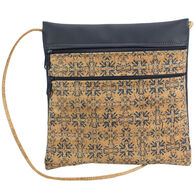 Natalie Therése Women's Be Lively 2 Printed Rustic Cork Handbag