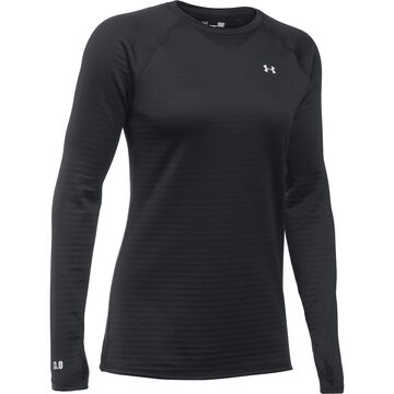 Under Armour Women's UA Base 3.0 Crew Long-Sleeve Shirt