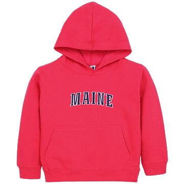 ESY Boys' & Girls' Embroidered Maine Hoodie