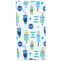 Kay Dee Designs Saltwater Buoys Terry Towel