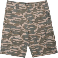 Stillwater Supply Men's Ripstop Camo Cargo Short