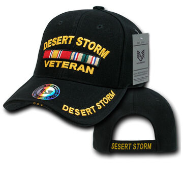 Rapid Dominance Mens Embroidered Military Baseball Cap - Desert Storm