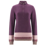 Aventura Women's Old Ranch Fair Isle Quarter-Zip Sweater