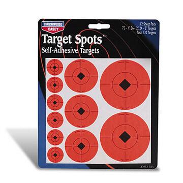 Birchwood Casey Self-Adhesive Assorted Target Spots Kit