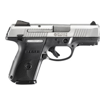Ruger SR9c 9mm Matte Stainless 3.4 10-Round Pistol