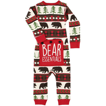 Lazy One Toddler Boys Bear Essential Flap Jack