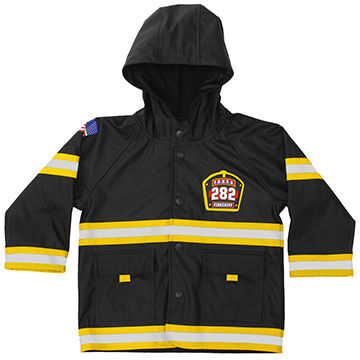 Western Chief Boys & Girls FDUSA Fire Chief Raincoat