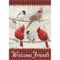 Carson Home Accents Friends Welcome Garden Flag