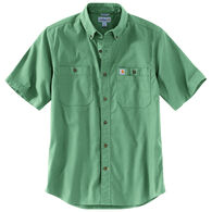 Carhartt Men's Big & Tall Rugged Flex Rigby Short-Sleeve Shirt