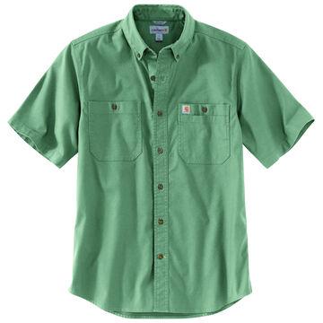 Carhartt Mens Big & Tall Rugged Flex Rigby Short-Sleeve Shirt