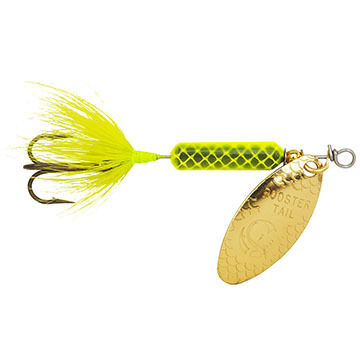 Yakima Bait Worden's Rooster Tail Hammered Blade Spinner Lure