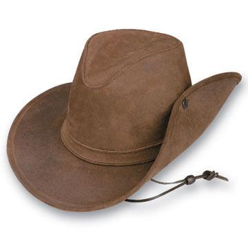 Minnetonka Men's Leather Hat