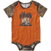 Carhartt Infant Boy's Camo Graphic Short-Sleeve Bodyshirt