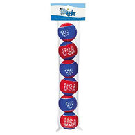 Grriggles Stars and Stripes Tennis Ball Dog Toy - 6 Pk.