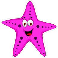 Sticker Cabana Happy Starfish Sticker