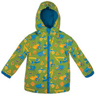 Stephen Joseph Children's Construction Rain Jacket