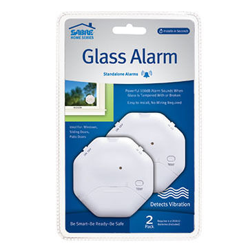 Sabre Window Glass Alarm - 2 Pk.