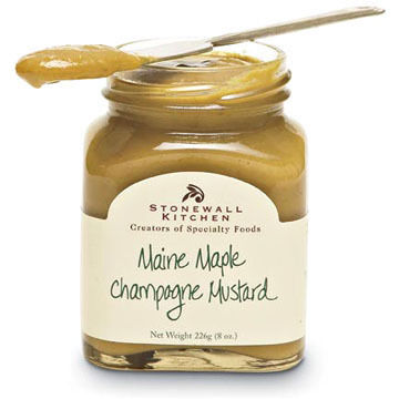 Stonewall Kitchen Maine Maple Champagne Mustard 8 oz.