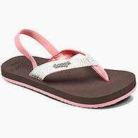 Reef Girls' Little Cushion Sassy Sandal