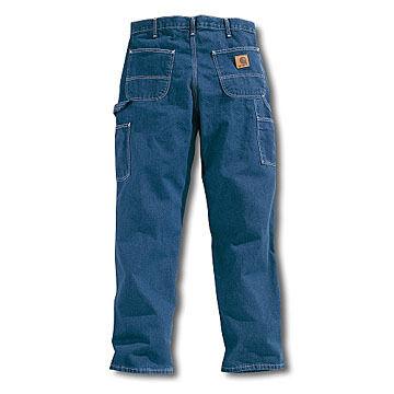 Carhartt Mens Loose/Original Fit Washed Work Dungaree Jean