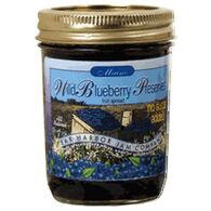 Bar Harbor Jam Company No Sugar Added Blueberry Preserves, 8 oz.