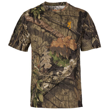 Browning Mens Wasatch-CB Short-Sleeve T-Shirt